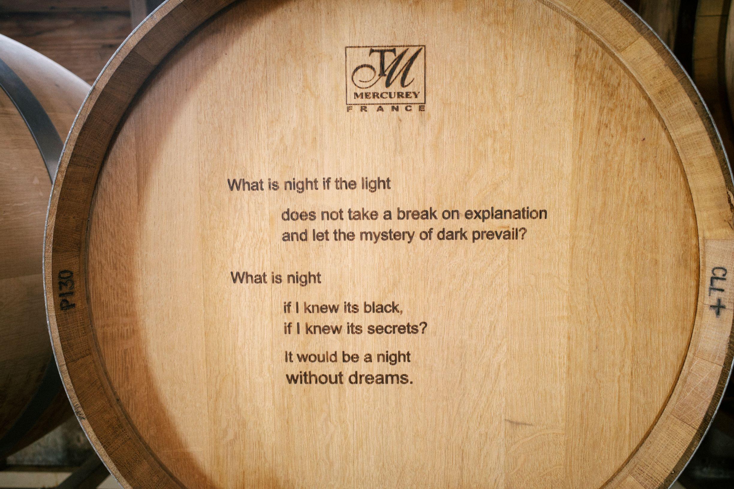 Poem on Barrel
